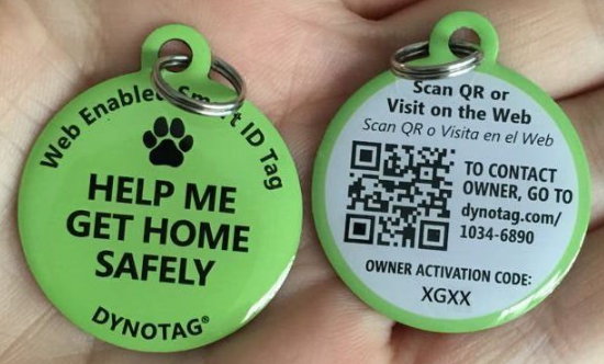 dynotag smart pet tag