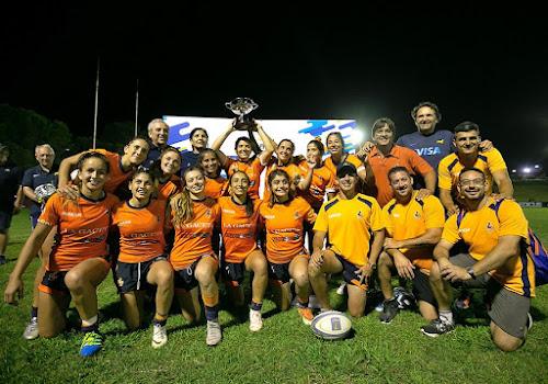 Las chicas de Tucumán campeonas del Seven de la República