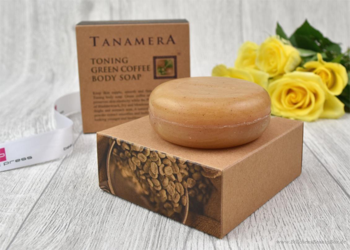 beautypress News Box - Tanamera - Grüner Kaffee Körperseife