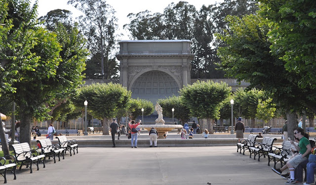 Atrativos no Golden Gate Park em San Francisco