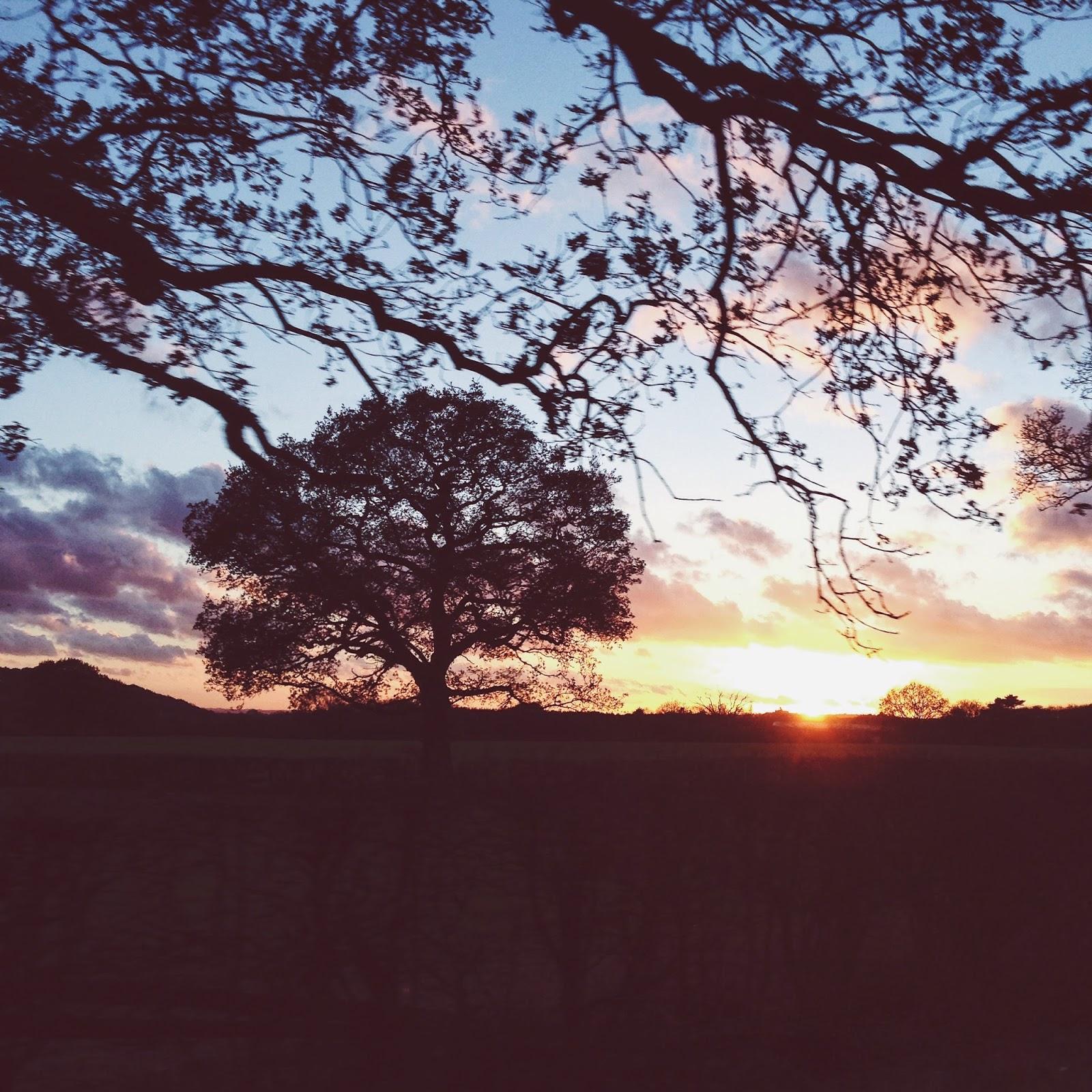 Nottingham Sunset