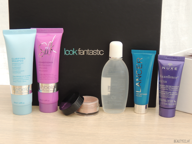 lookfantastic beauty box janvier 2016 revue avis test
