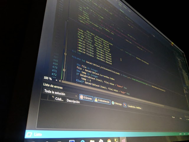 Cómo establecer una conexión con SQL server, agregar y seleccionar datos desde Visual Basic.