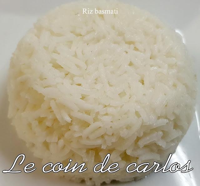 Le coin de carlos riz basmati - Cuisiner du riz blanc ...