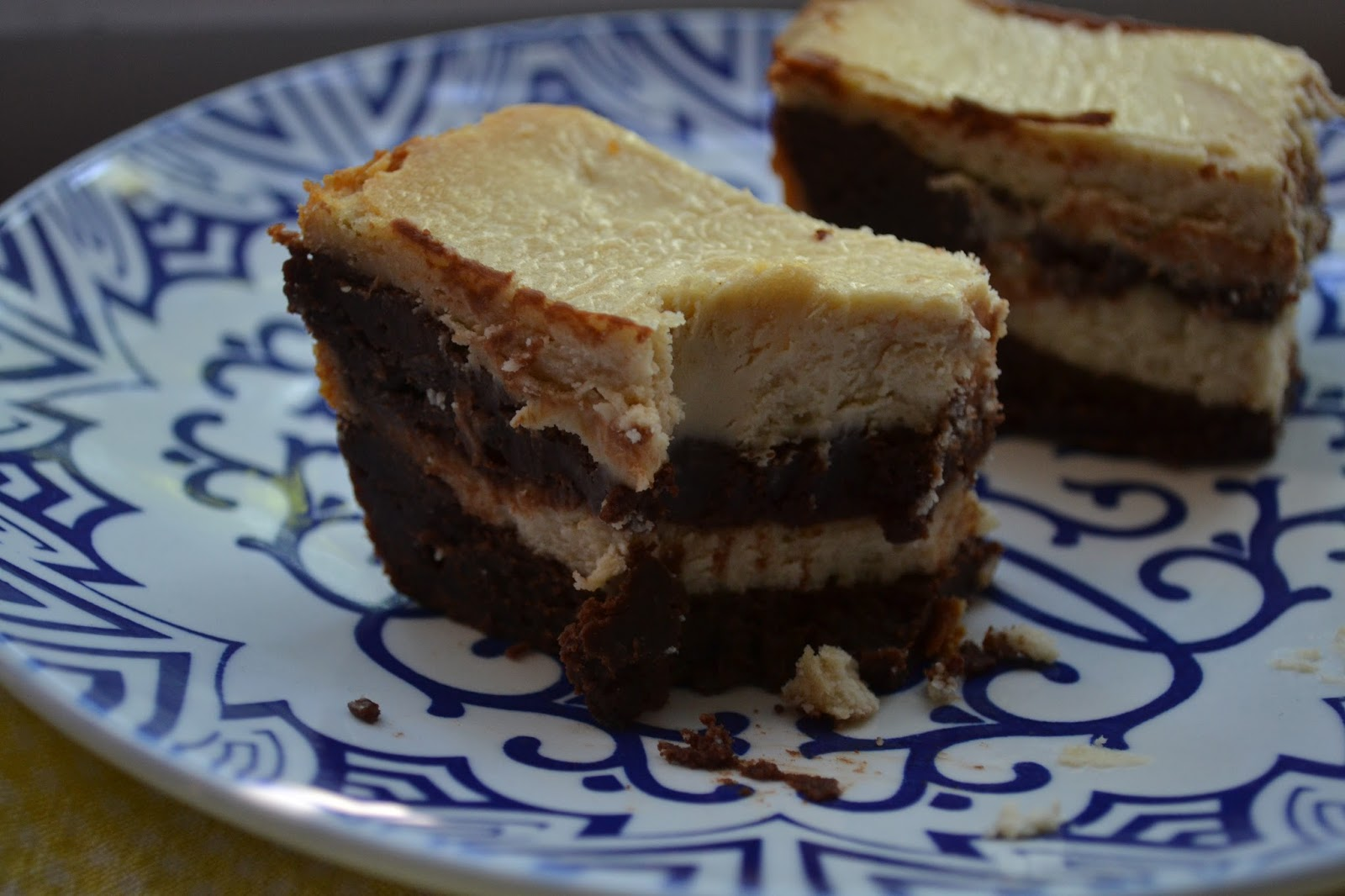 Peanut Butter Cheesecake Brownies from Crazy for Crust