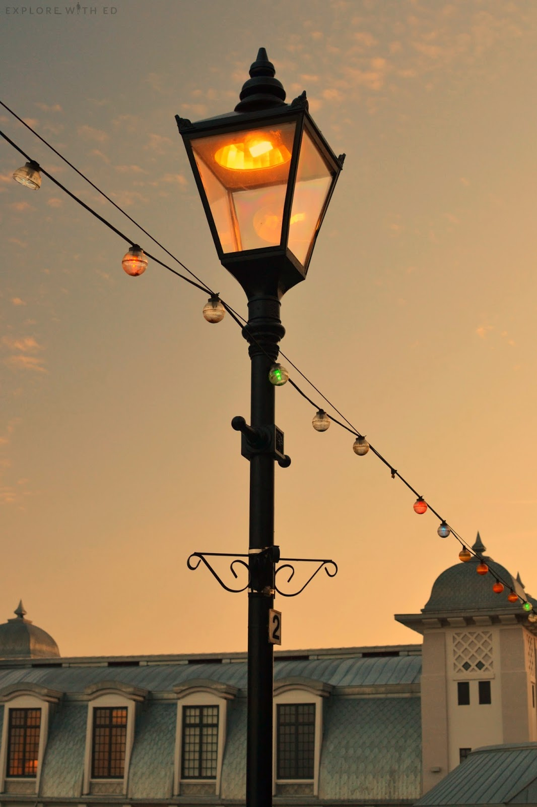 Victorian Lamp in Penarth