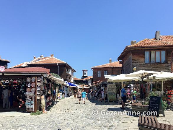 Nesebar'ın tarihi sokakları, Bulgaristan