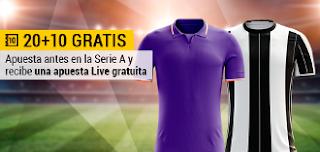 bwin apuesta 20 y gratis live 10 euros Fiorentina vs Juventus 15 enero