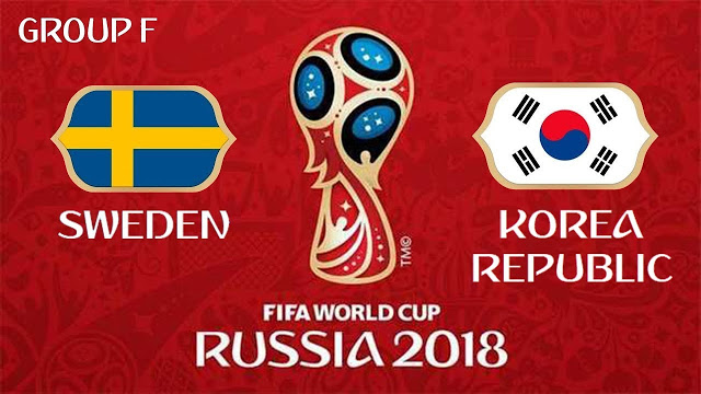 Sweden vs South Korea Full Match Replay 18 June 2018
