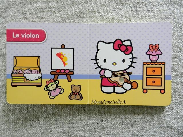 || Sélection de livres sur la musique : Hello Kitty les instruments