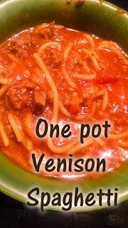 hearty venison spaghetti, easy venison spaghetti, wild game spaghetti, hunters spaghetti, deer spaghetti
