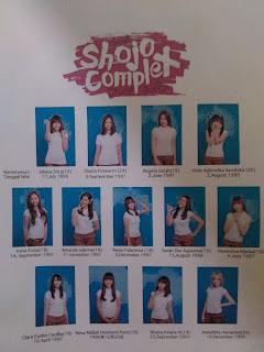 Profil Anggota Shojo Complex