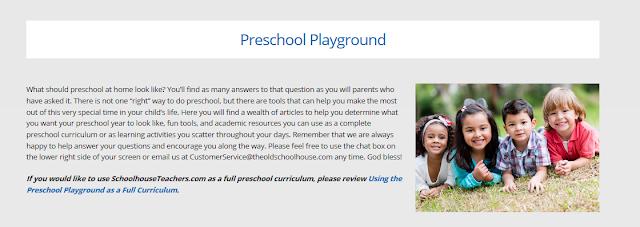 Preschool Homeschool Lessons