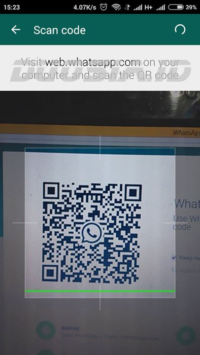 Scan QR Code WhatsApp for PC