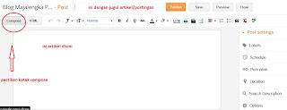 tips membuat postingan pada blogspot 2013