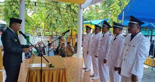 Motivasi Demokrasi, Bupati, Lantik 5 Kades Terpilih Di Kepulauan