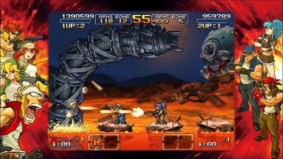 METAL SLUG XX was originally launched on PlayStation Download Metal Slug XX for free
