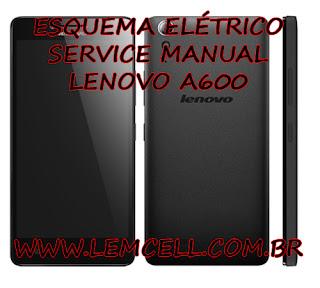 Esquema El  trico Smartphone Celular Lenovo    A6000    Manual de