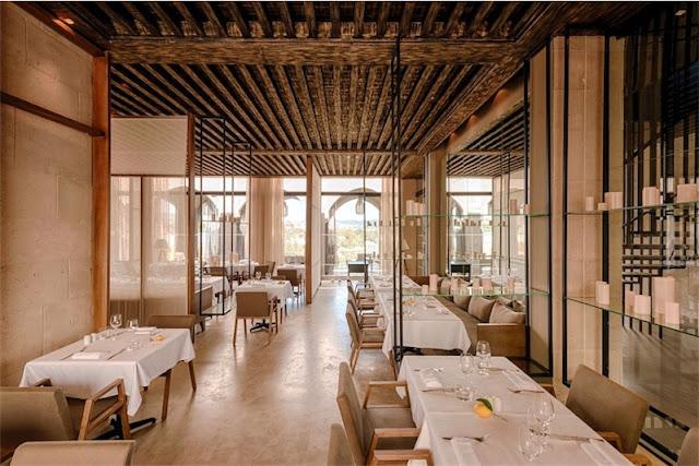 restaurant Sahrai hotel de lujo en Fez chicanddeco
