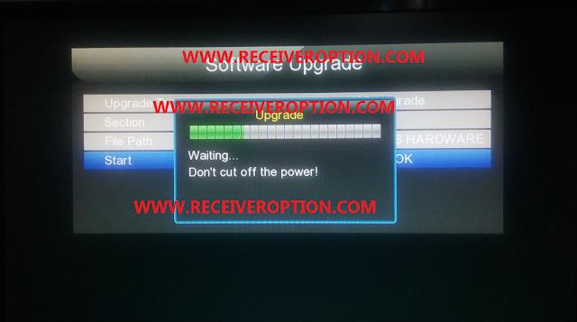 GX6605S HARDWARE VERSION HW203.00.023 POWERVU KEY NEW SOFTWARE