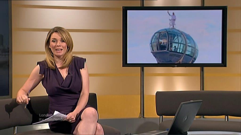 Uk Regional News Caps Faye Barker Itv London