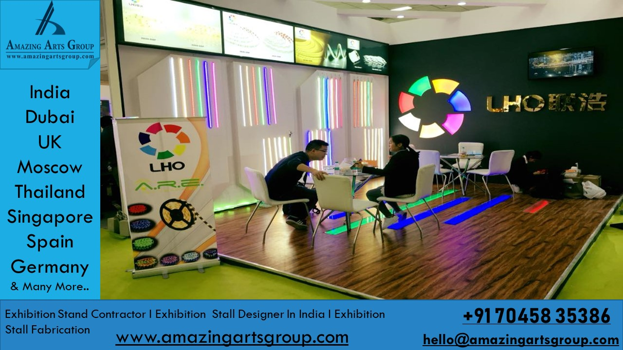 Exhibition Stand Builders Thailand : Amazing arts group exhibition stand contractor