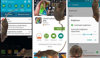 Tikus di layar
