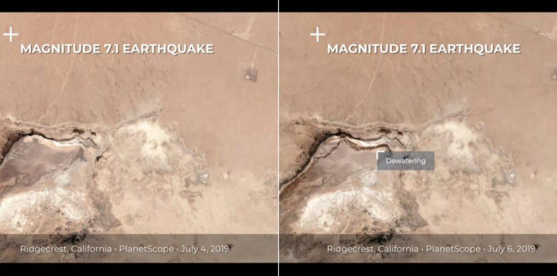 Terremoto California lascia crepe gigantesche visibili dallo Spazio. Foto e video virali sui Social.
