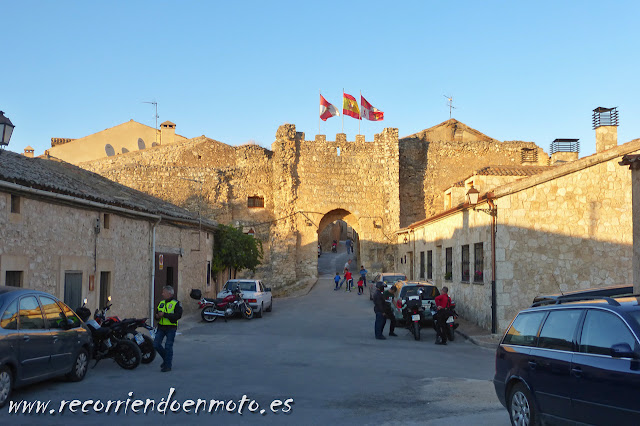 Entrada a Maderuelo, Segovia
