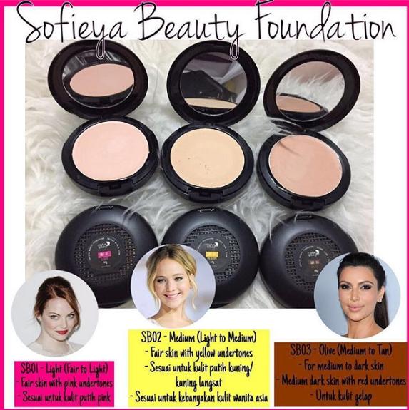 sofieya beauty foundation glam glow