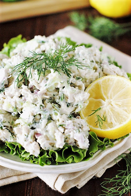 Tzatziki Chicken Salad picture