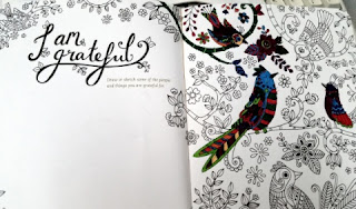 Gratitude: A Prayer and Praise Coloring Journal  sample page