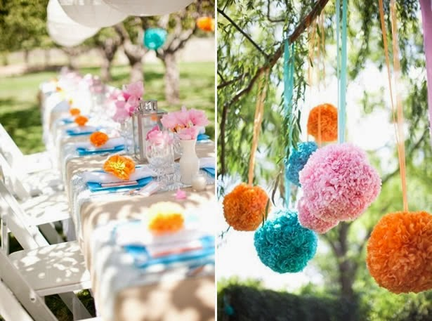 Wedding Shower Decorations With the New Bride and Expense in Mind