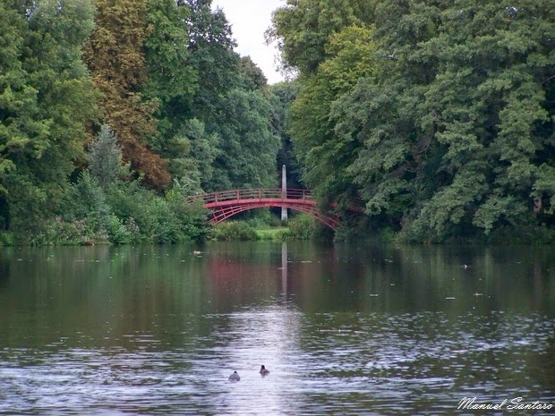Berlino, Castello di Charlottenburg, giardini