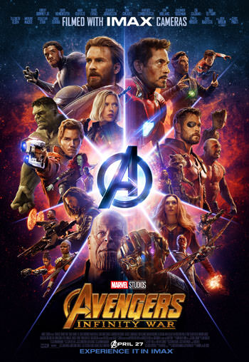 Download Film Baru AVENGERS INFINITY WAR 2018 Dual Audio Clean Hindi 450MB HDTS 480p