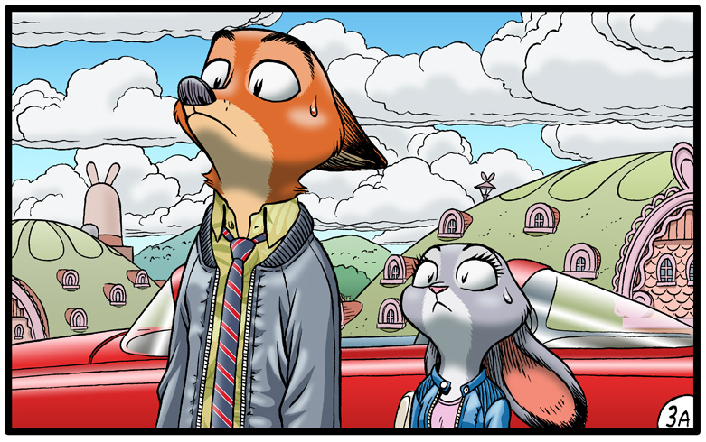 Comic: Hopps Family Ties (Original by Borba)