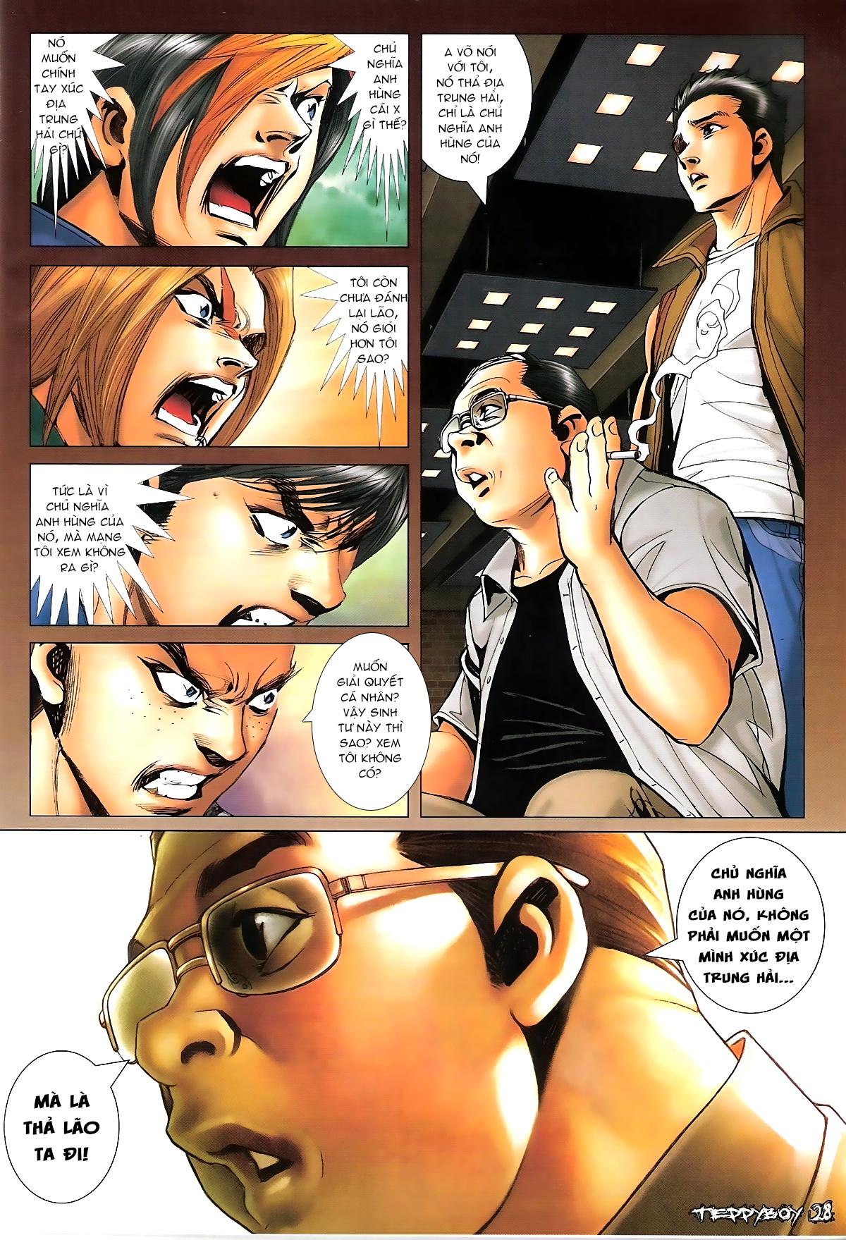 Người Trong Giang Hồ - Chapter 1321: Con trai Chó Xám - Pic 24