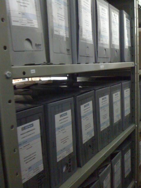 Antes e Depois | Projetos de Organização de Arquivos Institucionais e Empresariais