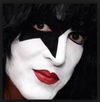 Kiss Face Paint Star