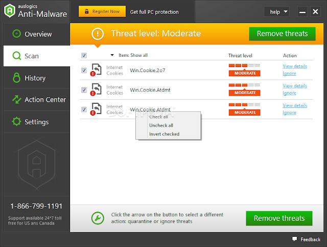 تحميل برنامج الحماية Download Auslogics Anti-Malware