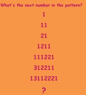 Picture Number Pattern Sequence