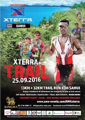 X Terra trail runs on Koh Samui 25th September