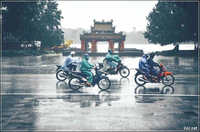 Huế những ngày mưa