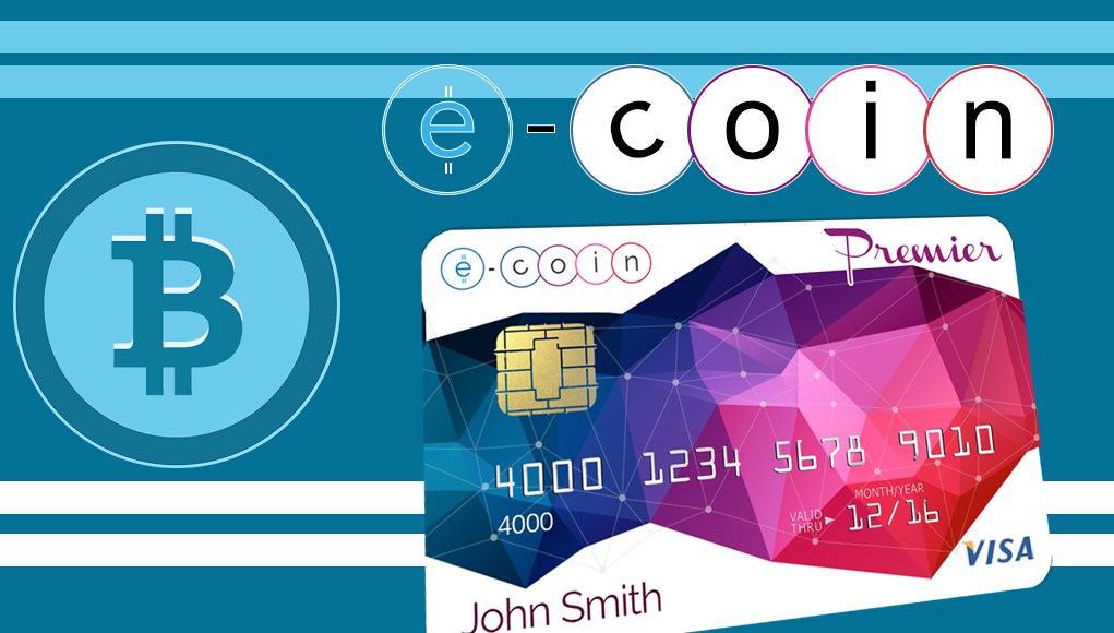 E-Coin Bitcoin Debit Card