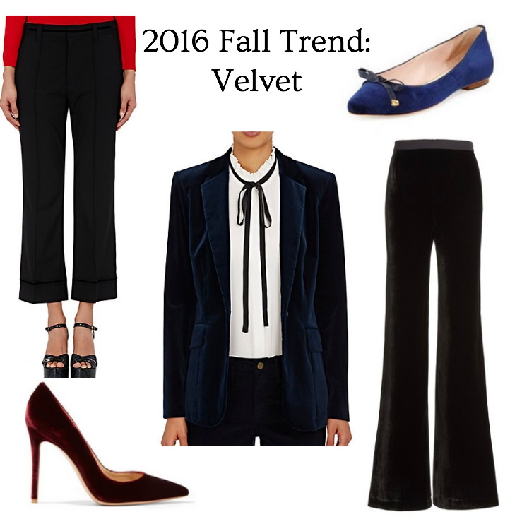 womens wear velvet items