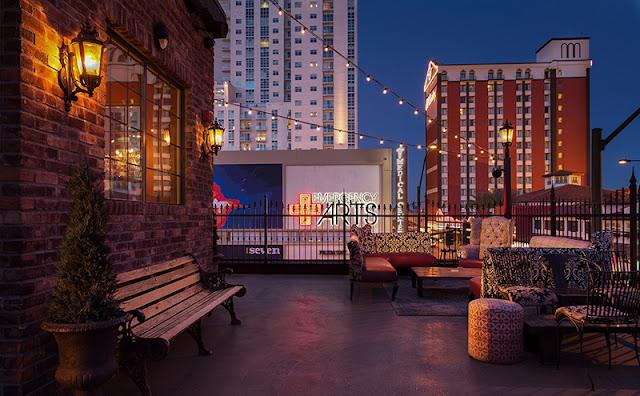 Lazer e entretenimento no Bar Commonwealth em Las Vegas