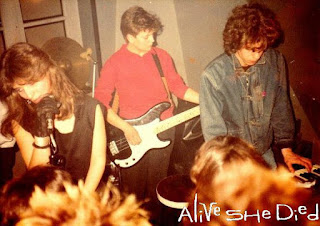 Alive She Died - live, pegasus club, athens