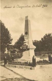 CPA monuments aux Morts du Puy-de-Dôme, Brassac