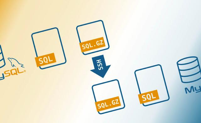 Cara Upload Database Melalui SSH Cpanel
