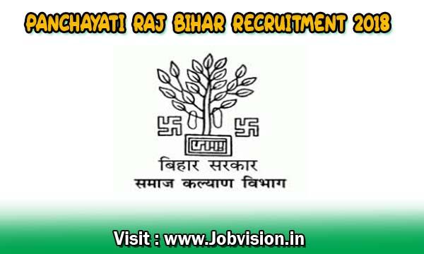 Panchayati Raj Bihar Recruitment 2018 4192 Technical Assistant Posts